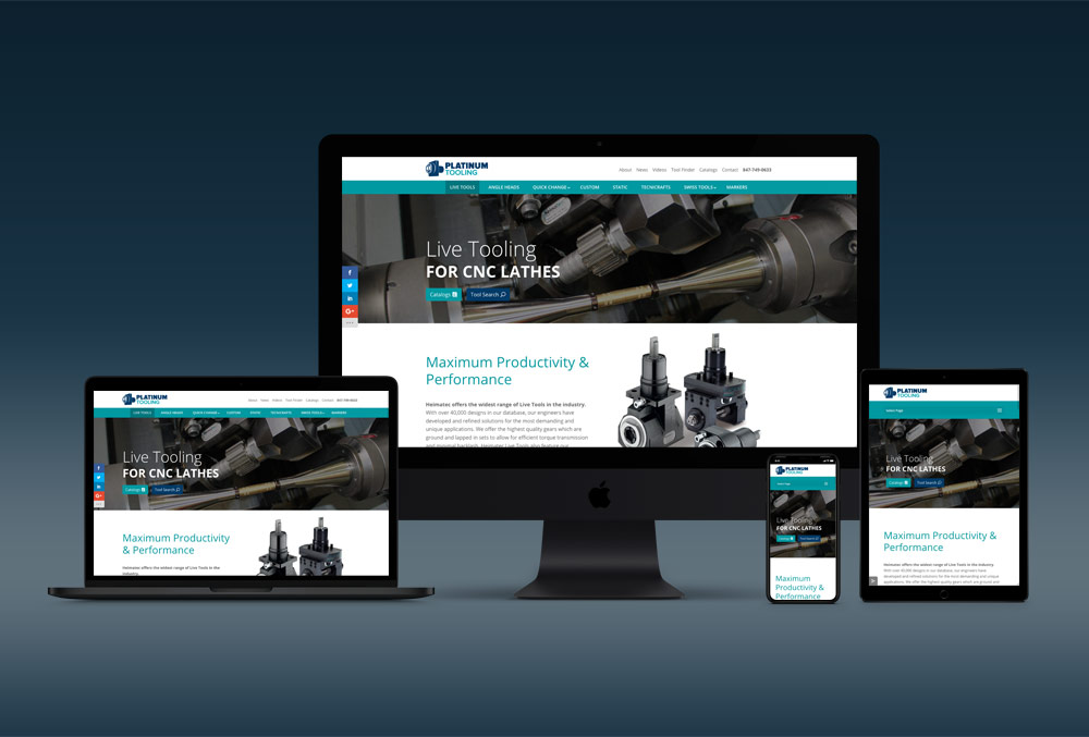 Platinum Tooling Website